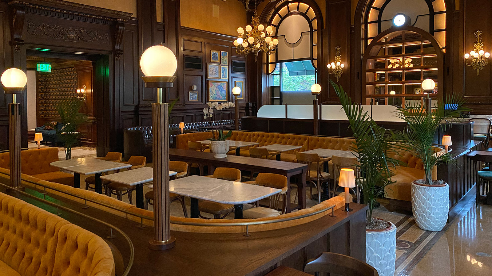 Image of Le Cavalier Restaurant, HOTEL DU PONT, Wilmington, Delaware, Dining
