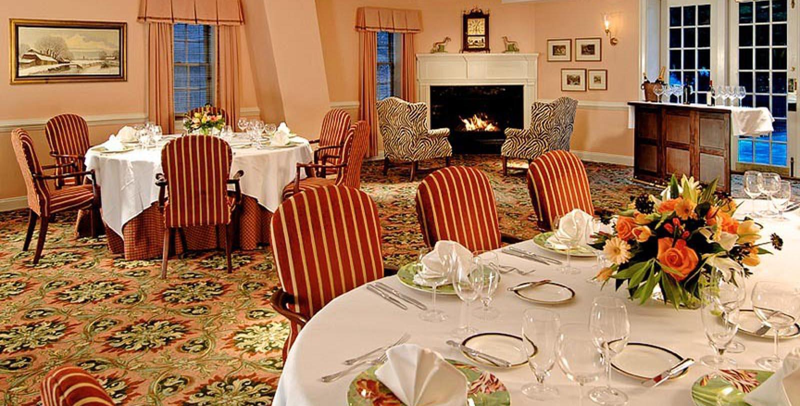 Image of Dining Area The Inn at Montchanin Village, 1799, Member of Historic Hotels of America, in Montchanin, Delaware, Experience