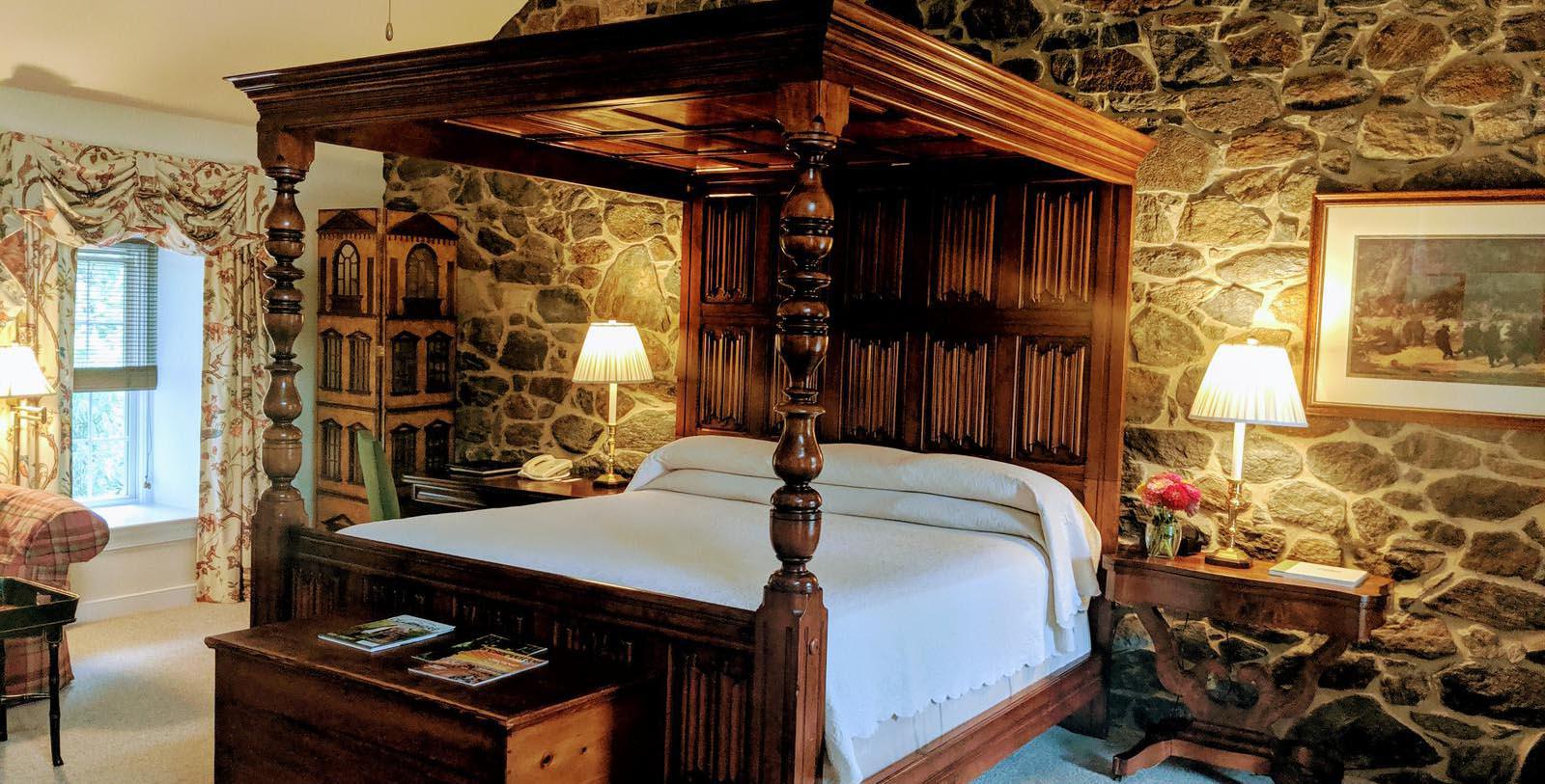 Image of Guestroom Interior The Inn at Montchanin Village, 1799, Member of Historic Hotels of America, in Montchanin, Delaware, Accommodations