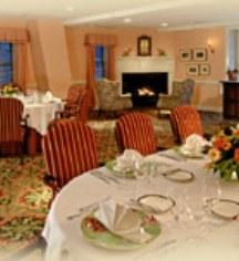 Dining at      The Inn at Montchanin Village  in Montchanin