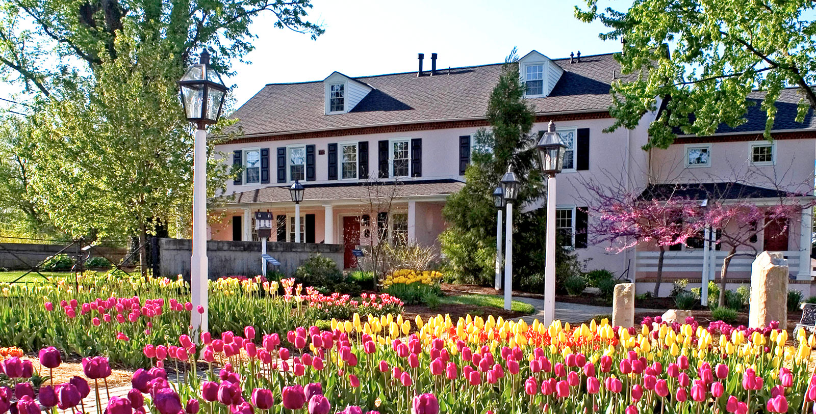 Image of Garden The Inn at Montchanin Village, 1799, Member of Historic Hotels of America, in Montchanin, Delaware