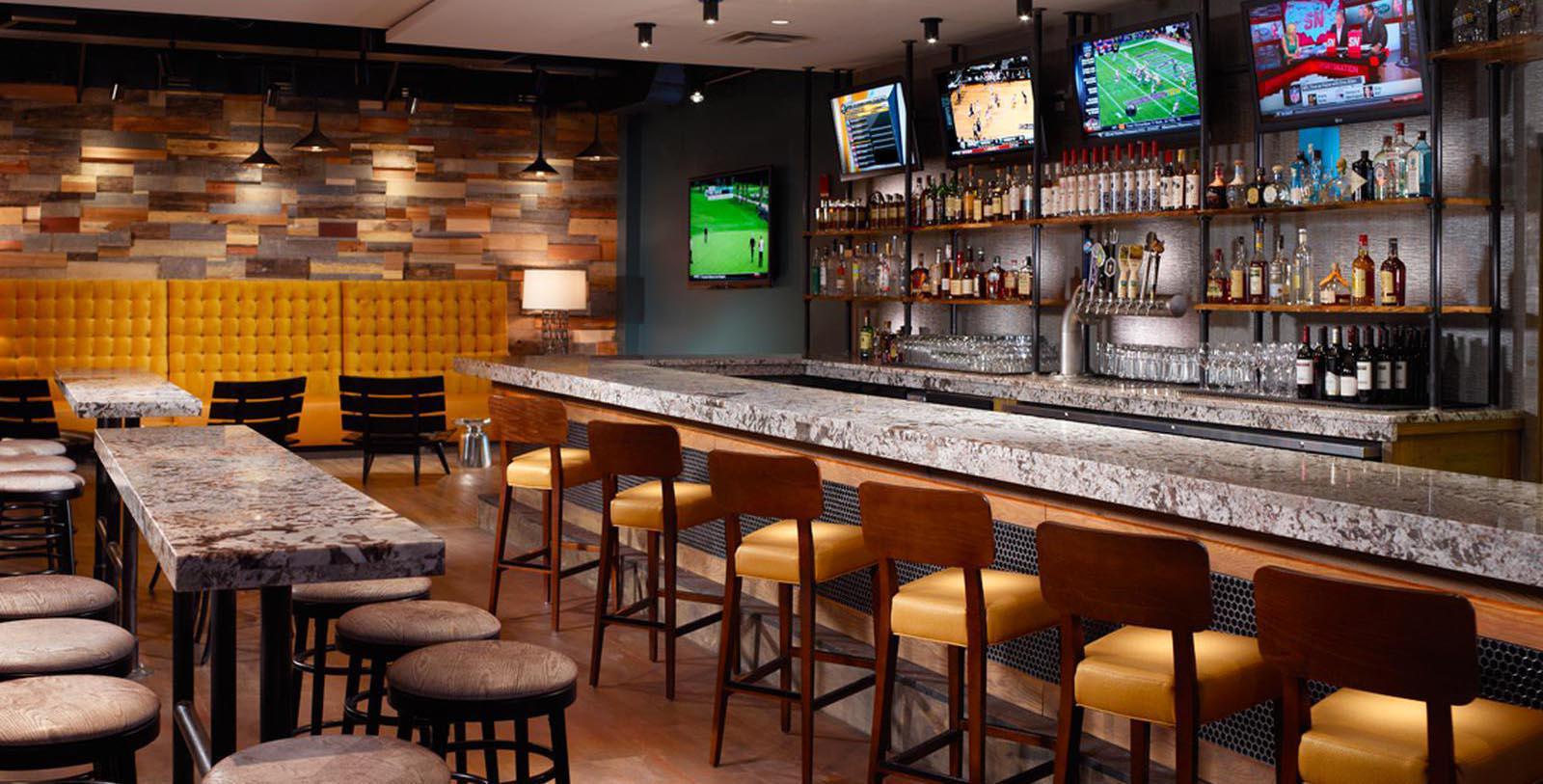 Image of Severin Bar, Omni Severin Hotel, Indianapolis, Indiana, 1913, Member of Historic Hotels of America, Taste