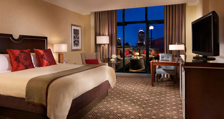 Accommodations:      Omni Severin Hotel, Indianapolis  in Indianapolis