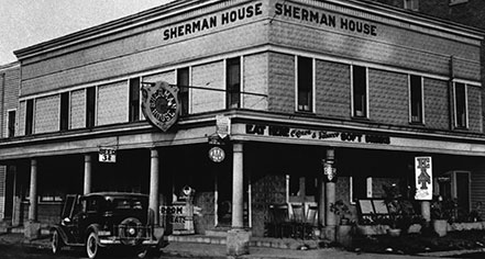 History:      The Sherman  in Batesville