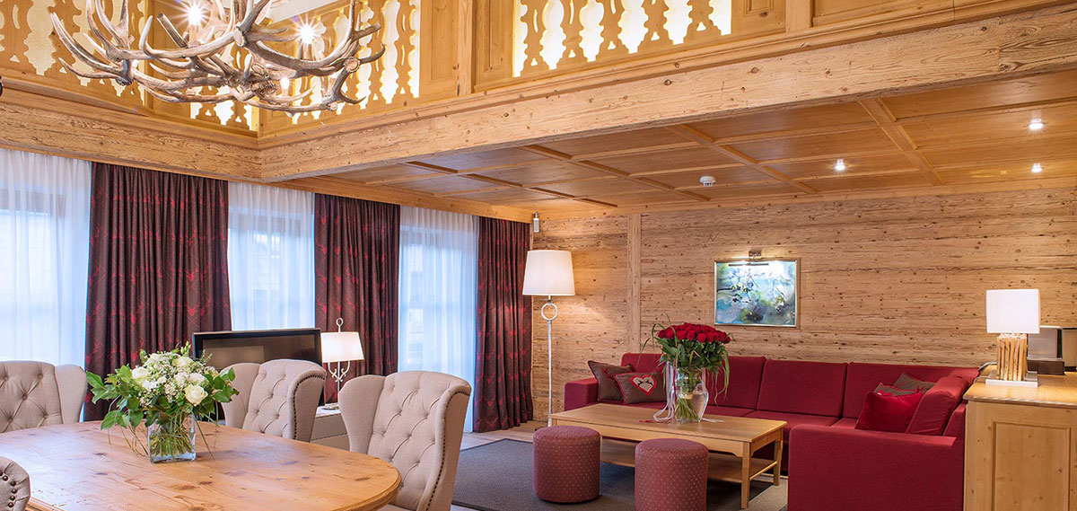 Accommodations:      Burg Vital Resort  in Lech