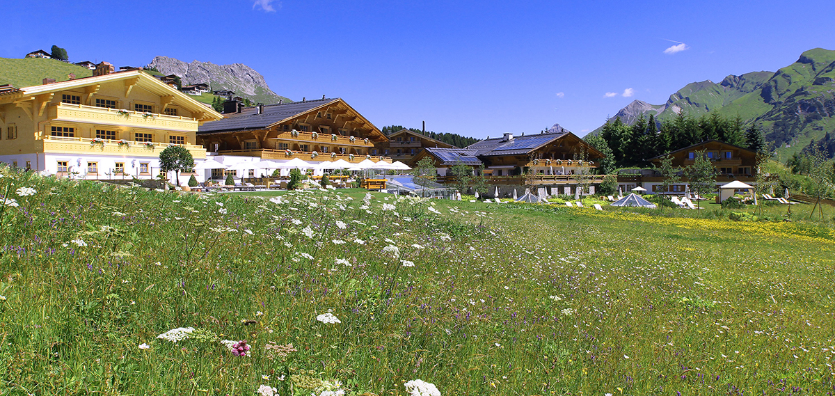 Burg Vital Resort  in Lech