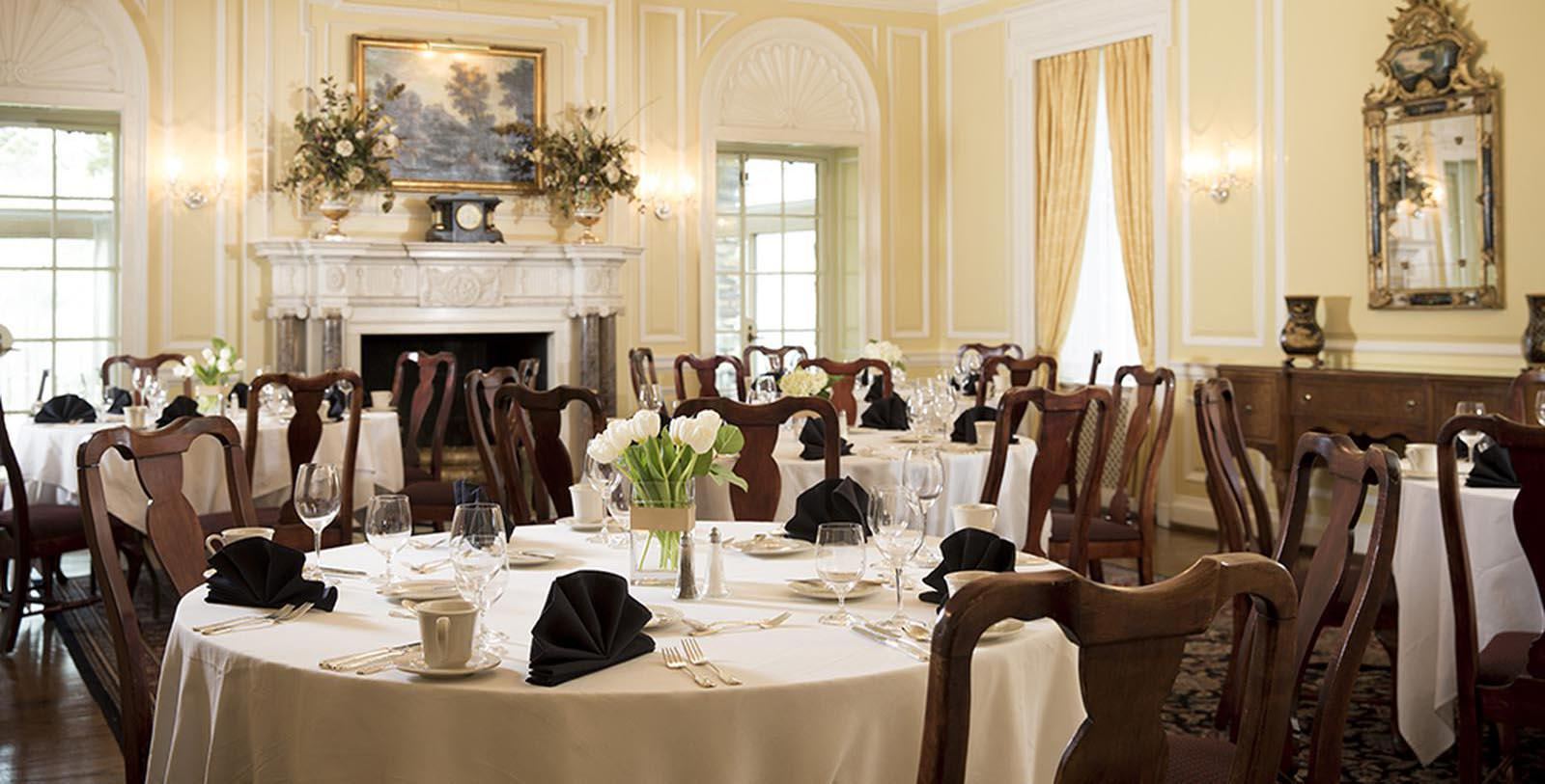 Image of Mews Dining Room at The Graylyn Estate,1932, Member of Historic Hotels of America, in Winston-Salem, North Carolina, Taste