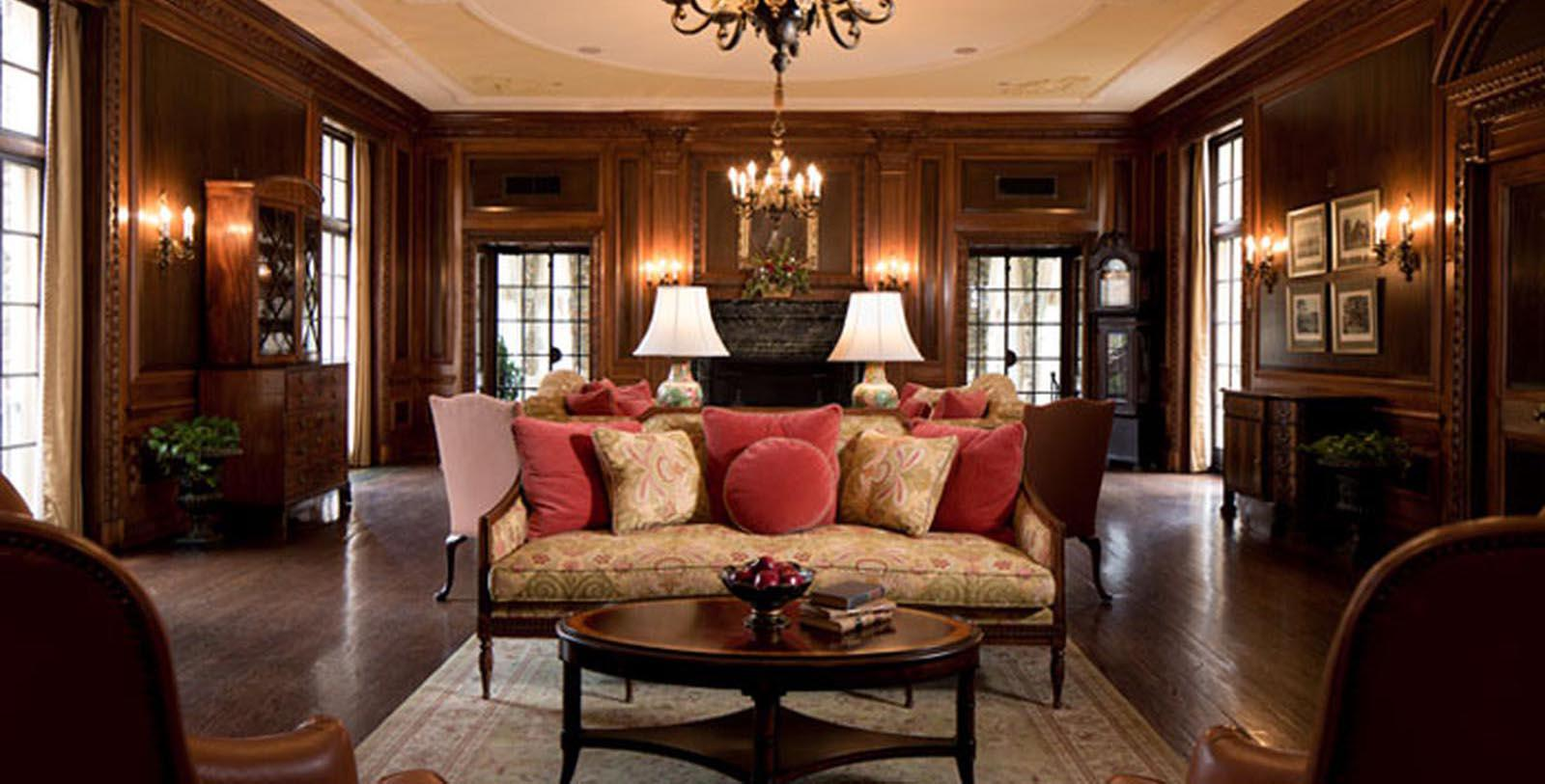 Image of Lounge The Graylyn Estate,1932, Member of Historic Hotels of America, in Winston-Salem, North Carolina, Discover