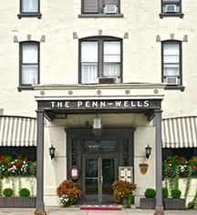 Penn Wells Hotel  in Wellsboro