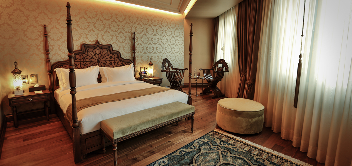 Accommodations:      Ajwa Hotel Sultanahmet  in Istanbul