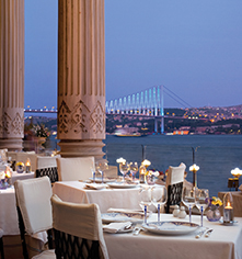 Activities:      Ciragan Palace Kempinski  in Istanbul