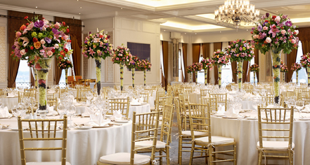 Weddings:      Ciragan Palace Kempinski  in Istanbul