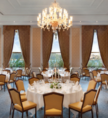 Weddings:      Ciragan Palace Kempinski  in Istanbul