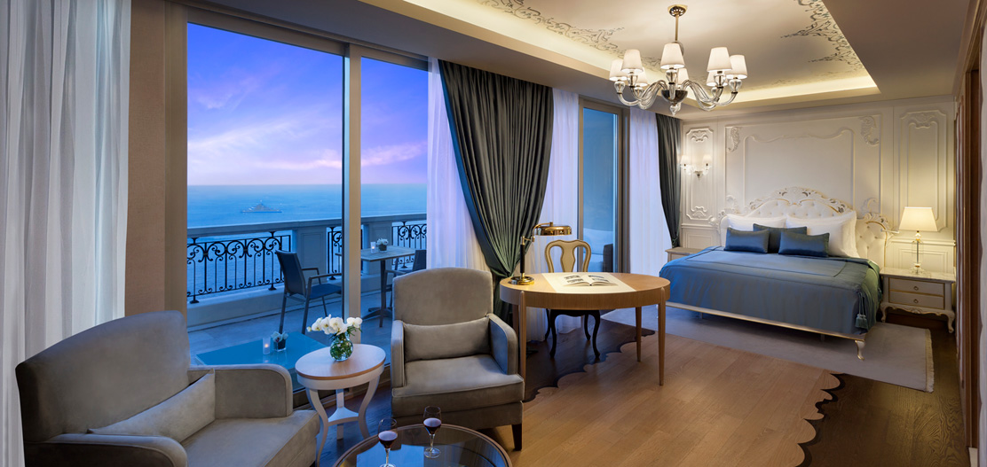 Accommodations:      CVK Park Bosphorus Hotel  in Istanbul