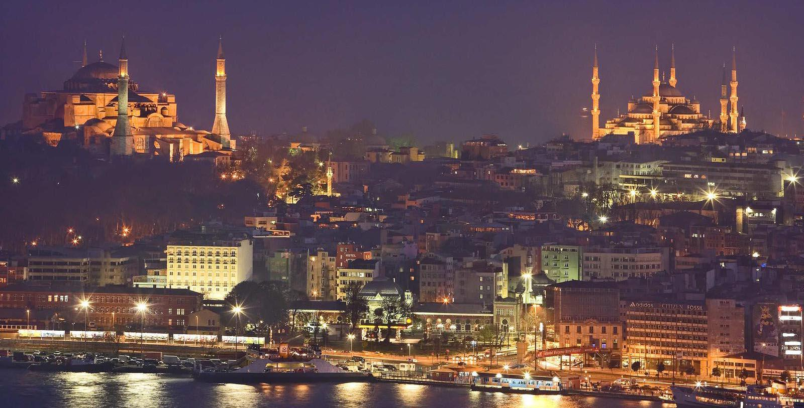 Image of Istanbul Skyline Near The Galata Istanbul Hotel - MGallery by Sofitel, 1720, Member of Historic Hotels Worldwide, in Istanbul, Turkey, Discover