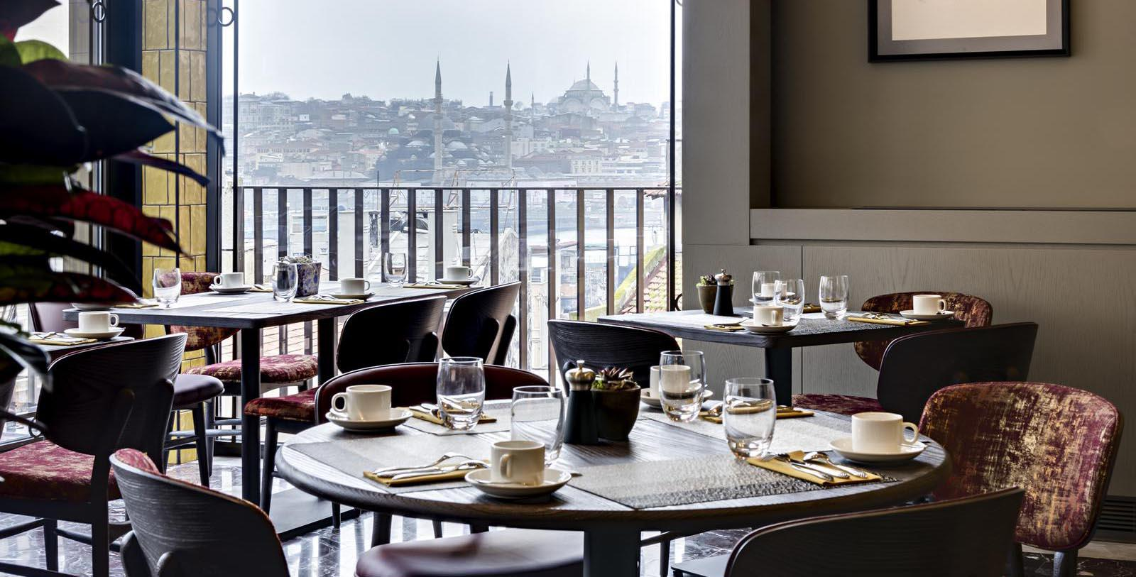Image of Dining Room at Peran Meyhane at The Galata Istanbul Hotel - MGallery by Sofitel, 1720, Member of Historic Hotels Worldwide, in Istanbul, Turkey, Taste