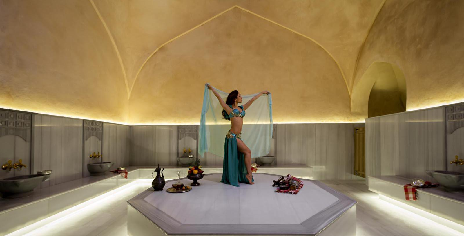 Image of Historic Turkish Bath and Spa at The Galata Istanbul Hotel - MGallery by Sofitel, 1720, Member of Historic Hotels Worldwide, in Istanbul, Turkey, Explore