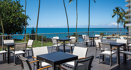 Dining at      Grand Naniloa Hotel Hilo, a DoubleTree by Hilton  in Hilo