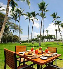 Dining at      Mauna Kea Beach Hotel  in Kohala Coast