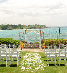Weddings:      Mauna Kea Beach Hotel  in Kohala Coast