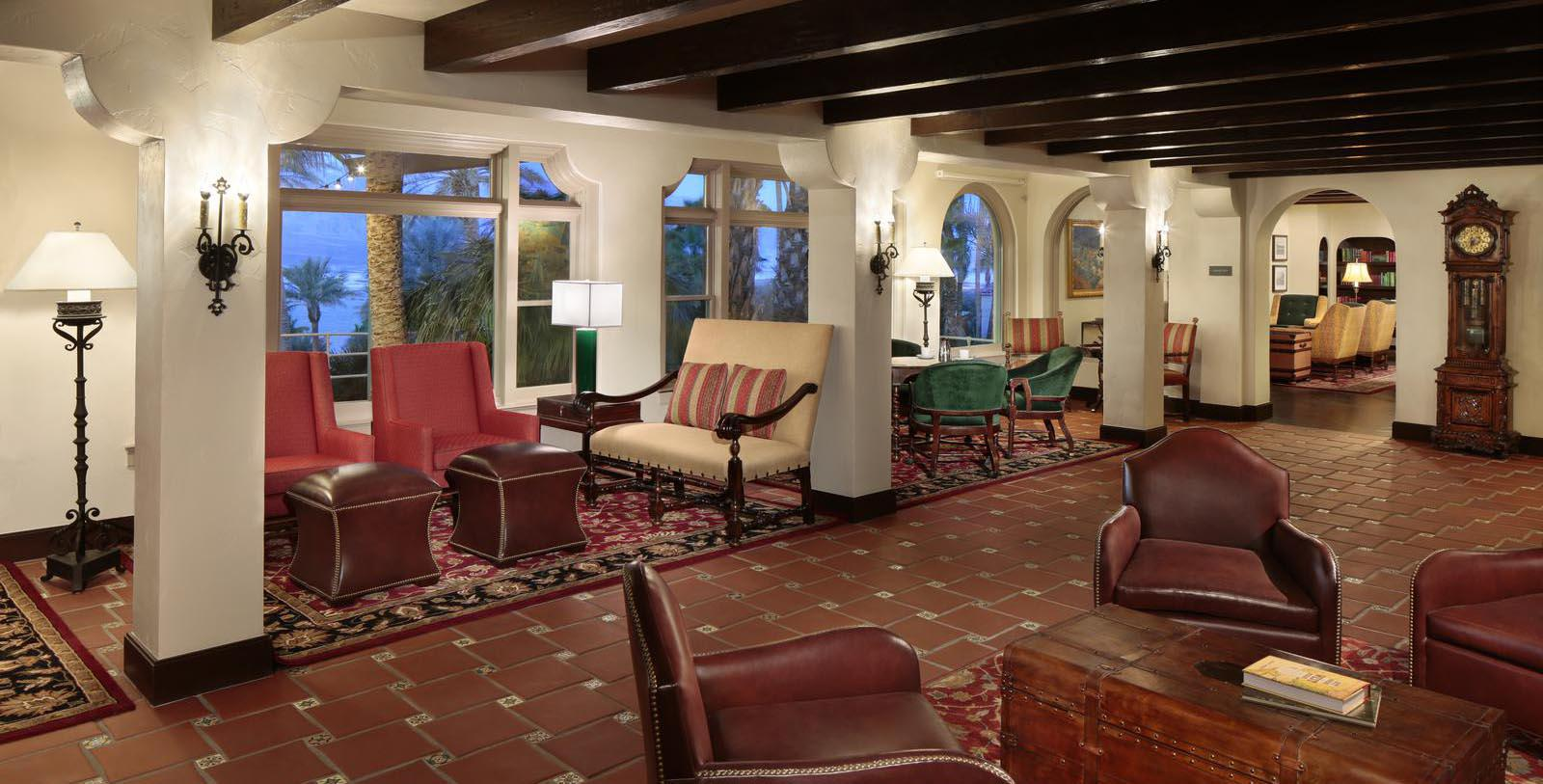 Image of Seating Area The Inn at Death Valley, 1927, Member of Historic Hotels of America, in Death Valley, California, Discover