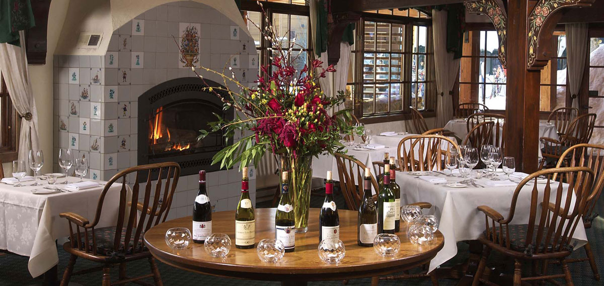 Dining:      Alpenhof Lodge  in Teton Village