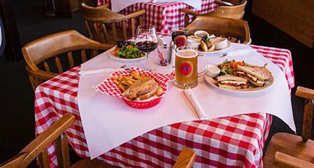 Dining at      Alpenhof Lodge  in Teton Village
