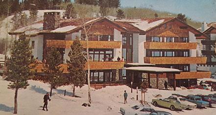 Ghost Stories:      Alpenhof Lodge  in Teton Village
