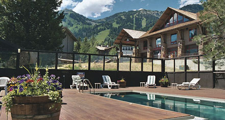 Spa:      Alpenhof Lodge  in Teton Village