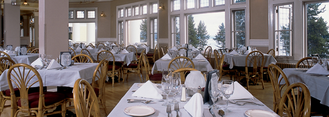 Superbe Dining. The Lake Yellowstone Hotel Dining Room ...