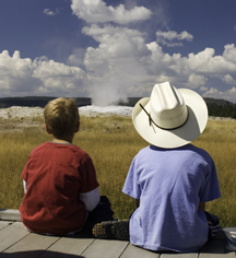 Activities:      Old Faithful Inn  in Yellowstone National Park
