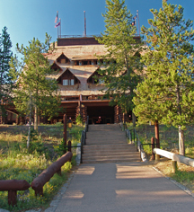 Meetings at      Old Faithful Inn  in Yellowstone National Park
