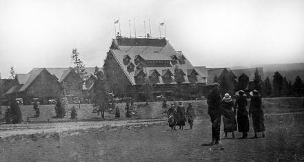 History:      Old Faithful Inn  in Yellowstone National Park