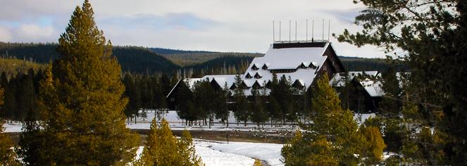 Event Calendar:      Old Faithful Inn  in Yellowstone National Park