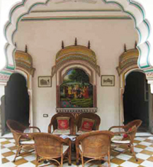 Activities:      Alsisar Haveli  in Jaipur