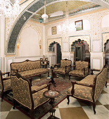 Meetings at      Alsisar Haveli  in Jaipur