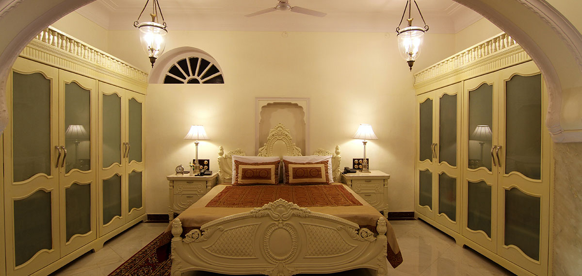 Accommodations:      Shahpura Haveli  in Jaipur