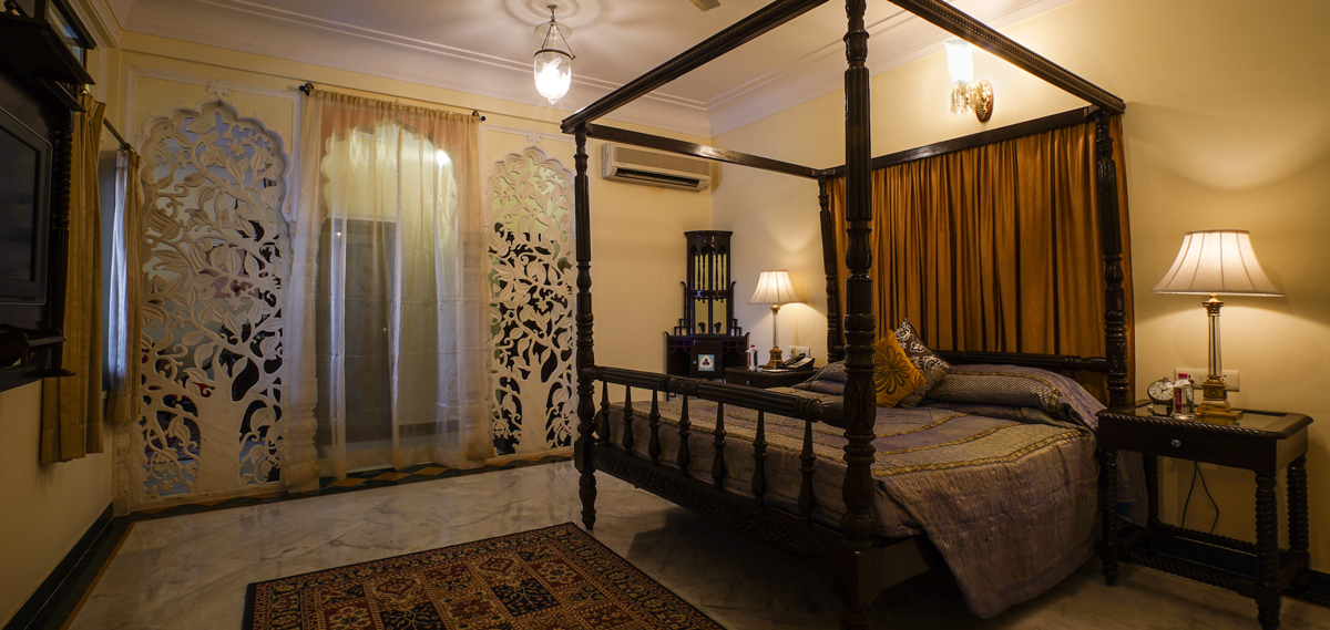 Accommodations:      Shahpura House  in Jaipur