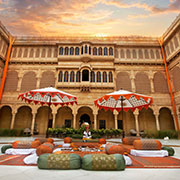 Book a stay with Suryagarh in Jaisalmer