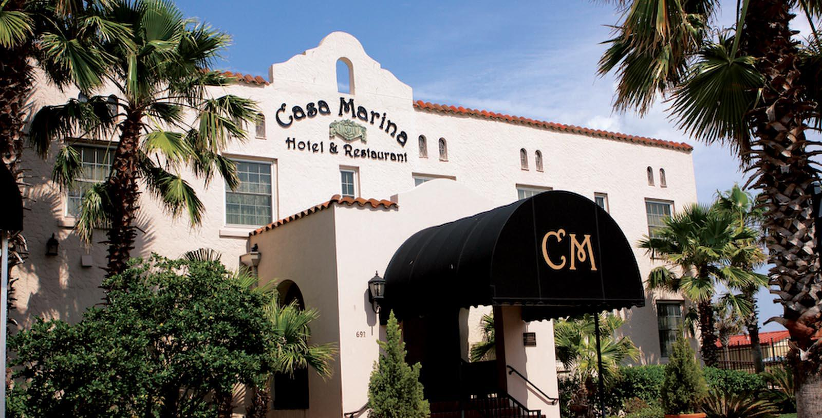 Image of hotel exterior at Casa Marina Hotel and Restaurant, 1925, Member of Historic Hotels of America, in Jacksonville, Florida, Discover