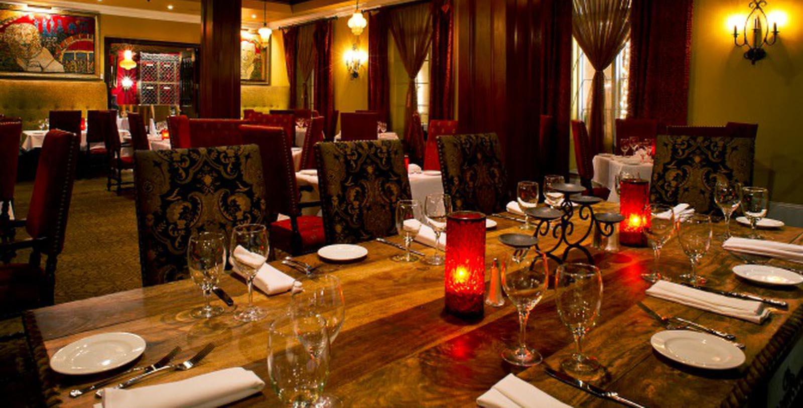 Image of Cobalt Lounge restaurant at Casa Monica Resort & Spa, 1888, Member of Historic Hotels of America, in St. Augustine, Florida, Taste