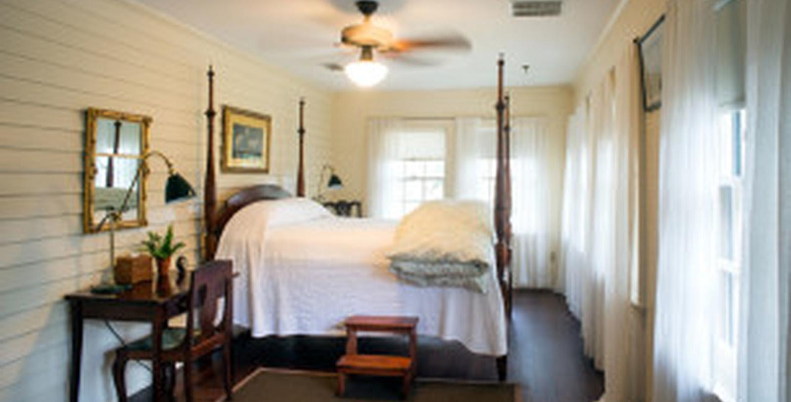 Image of guestroom at Greyfield Inn, 1900, Member of Historic Hotels of America, in Cumberland Island, Georgia, Location Map