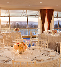 Weddings:      Claremont Club & Spa, A Fairmont Hotel  in Berkeley