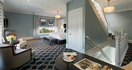 Accommodations:      Claremont Club & Spa, A Fairmont Hotel  in Berkeley
