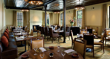Dining at      Cavallo Point  in San Francisco