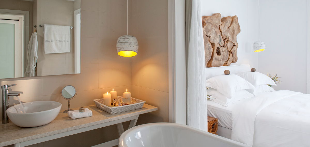 Accommodations:      Myconian Villa Collection  in Mykonos