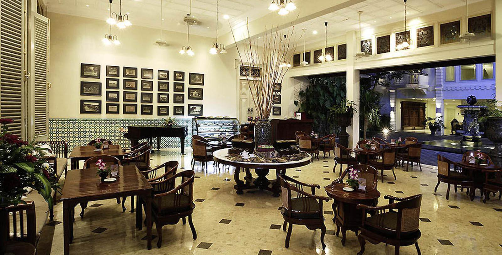Image of 1918 Terrace Lounge at The Phoenix Hotel Yogyakarta - MGallery by Sofitel, 1928, Member of Historic Hotels Worldwide, in Yogyakarta, Indonesia, Taste