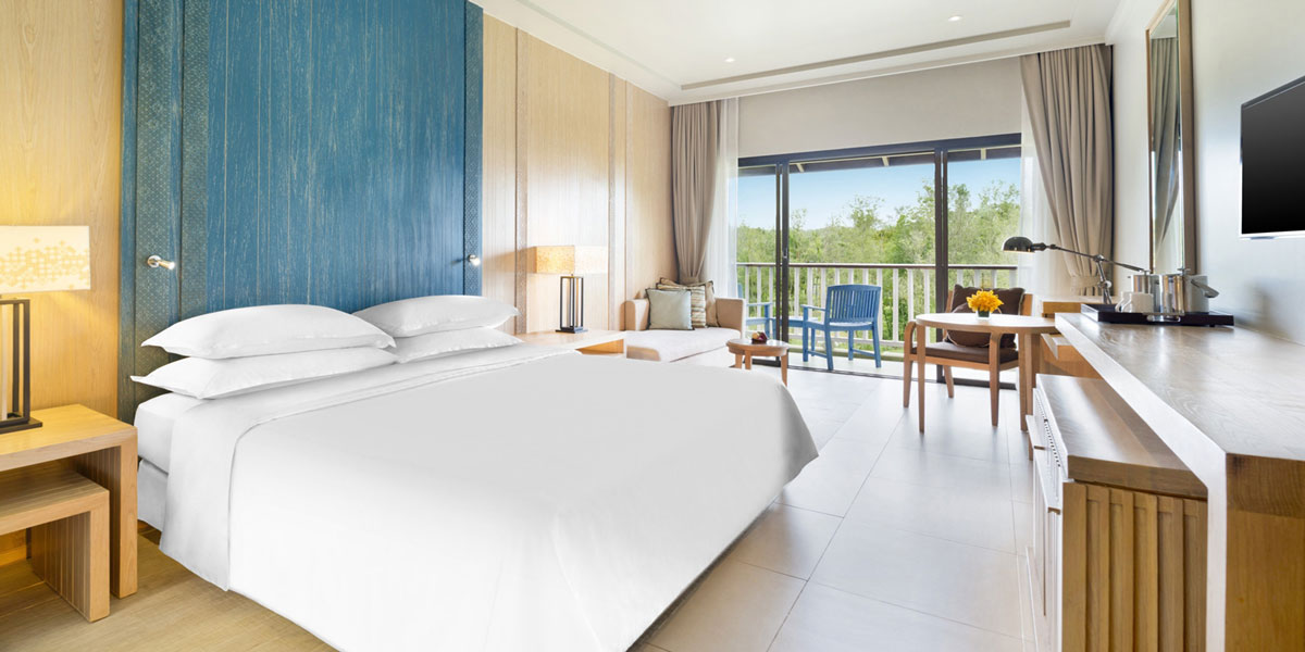 Accommodations:      Dusit Thani Krabi Beach Resort  in Krabi