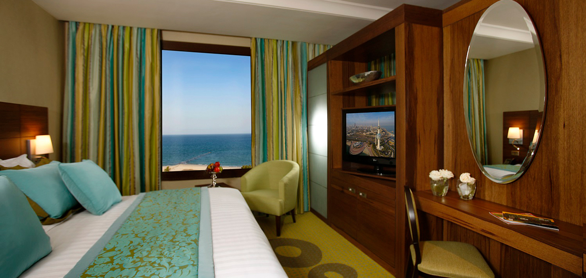 Accommodations:      Safir Hotel and Residences Kuwait  in Kuwait