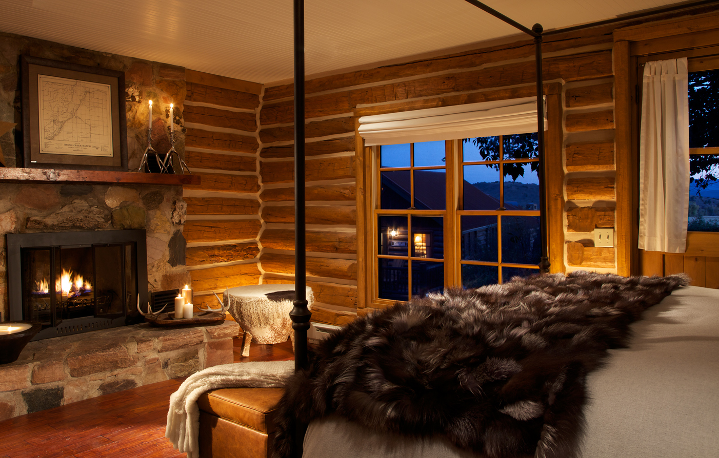 Accommodations:      The Lodge & Spa At Brush Creek Ranch  in Saratoga